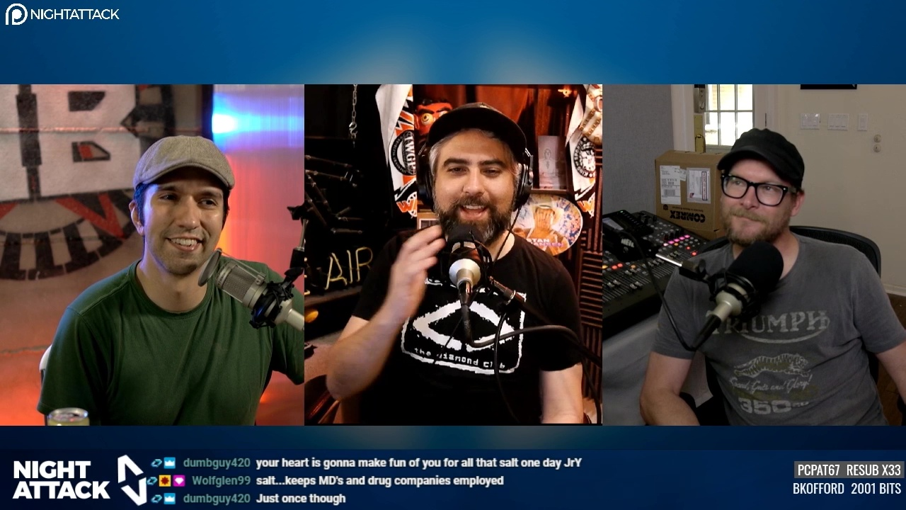 Night Attack Happy Hour (4/08/2020)