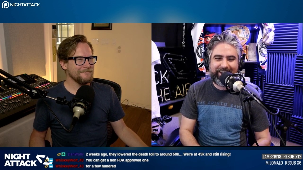 Night Attack Happy Hour (4/22/2020)
